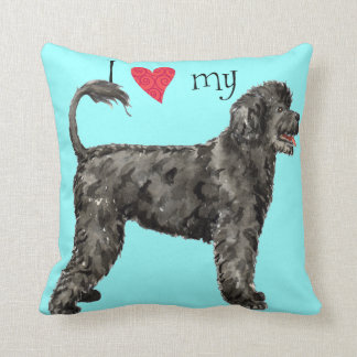 I Love my PWD Throw Pillow
