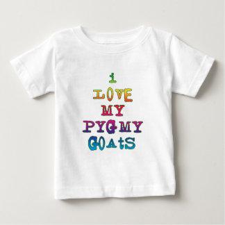 I Love My Pygmy Goats Baby T-Shirt