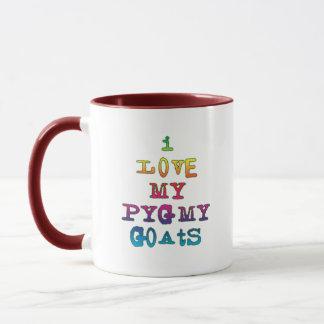 I Love My Pygmy Goats Mug