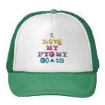 I Love My Pygmy Goats Trucker Hat