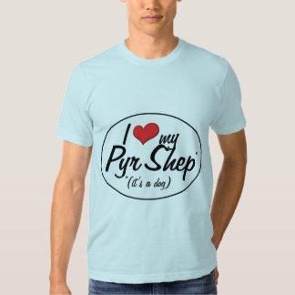 I Love My Pyr Shep (It's a Dog) Tshirt