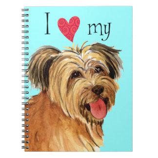 I Love my Pyrenean Shepherd Notebook