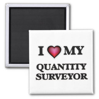 I love my Quantity Surveyor Magnet