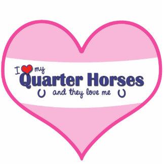 I Love My Quarter Horses (Multiple Horses) Statuette