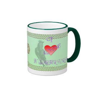 I Love My Quarterhorse Mug