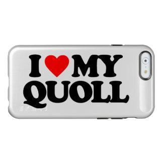 I LOVE MY QUOLL INCIPIO FEATHER SHINE iPhone 6 CASE
