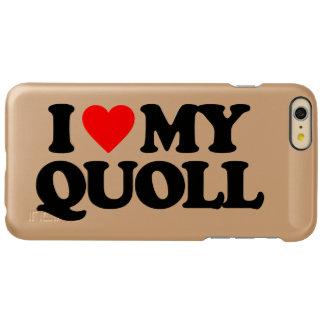 I LOVE MY QUOLL INCIPIO FEATHER SHINE iPhone 6 PLUS CASE