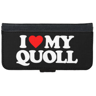I LOVE MY QUOLL iPhone 6/6S WALLET CASE