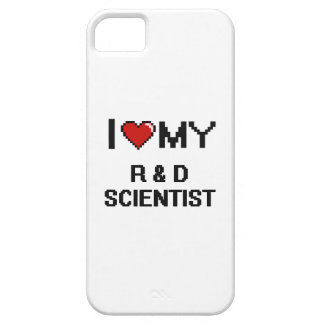 I love my R & D Scientist iPhone 5 Covers