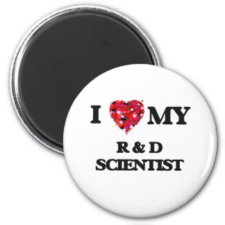 I love my R & D Scientist 2 Inch Round Magnet