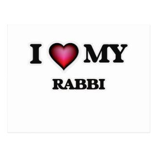 I love my Rabbi Postcard