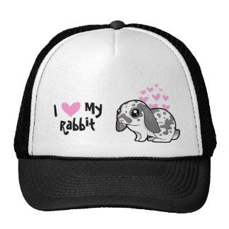 I Love My Rabbit (floppy ear smooth hair) Trucker Hat
