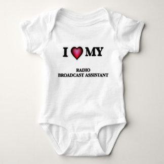 I love my Radio Broadcast Assistant Baby Bodysuit