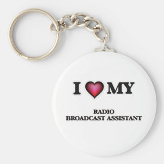 I love my Radio Broadcast Assistant Keychain