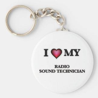 I love my Radio Sound Technician Keychain