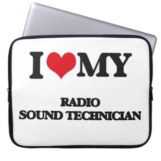 I love my Radio Sound Technician Laptop Computer Sleeve