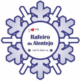 I Love My Rafeiro do Alentejo (Male Dog) Photo Sculpture Ornament