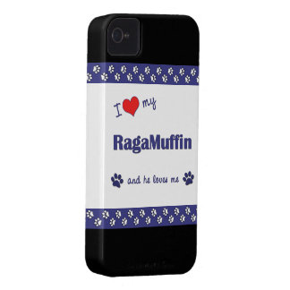 I Love My RagaMuffin (Male Cat) iPhone 4 Cover