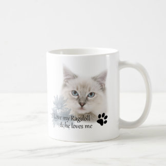 I love my ragdoll coffee mug