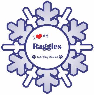 I Love My Raggles (Multiple Dogs) Photo Cutouts