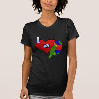 I Love my Rainbow Lorikeet T-Shirt