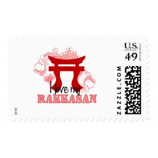 I love my Rakkasan Postage Stamp