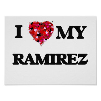 I Love MY Ramirez Poster