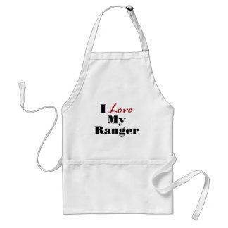 I Love My Ranger Adult Apron