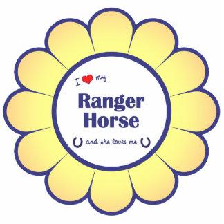 I Love My Ranger Horse (Female Horse) Statuette