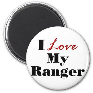 I Love My Ranger 2 Inch Round Magnet