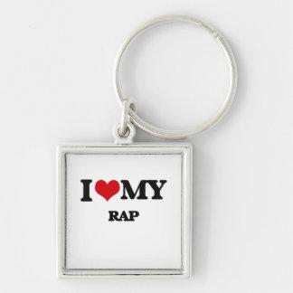 I Love My RAP Keychain