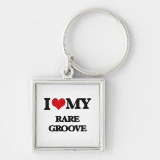 I Love My RARE GROOVE Keychain