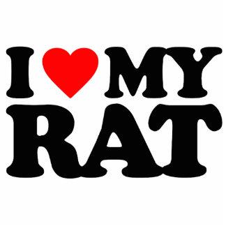 I LOVE MY RAT PHOTO CUTOUTS