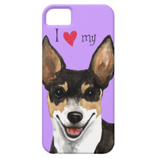 I Love my Rat Terrier iPhone SE/5/5s Case