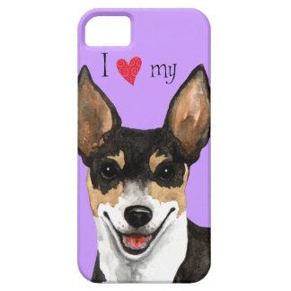 I Love my Rat Terrier iPhone SE/5/5s Case