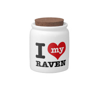 I love my Raven Candy Dishes