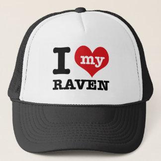 I love my Raven Trucker Hat
