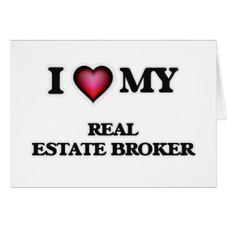 I love my Real Estate Broker Card