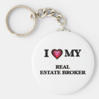 I love my Real Estate Broker Keychain
