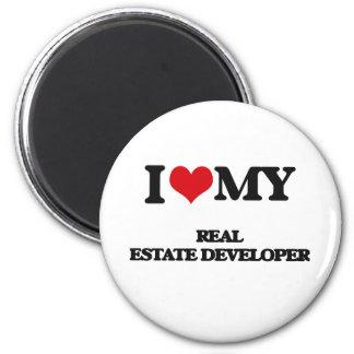I love my Real Estate Developer Magnets