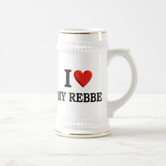 I love My Rebbe Beer Stein
