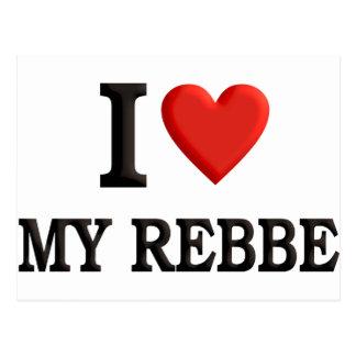 I love My Rebbe Postcard