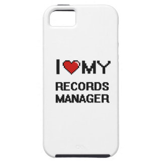 I love my Records Manager iPhone 5 Covers