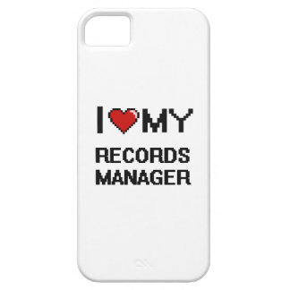 I love my Records Manager iPhone 5 Case