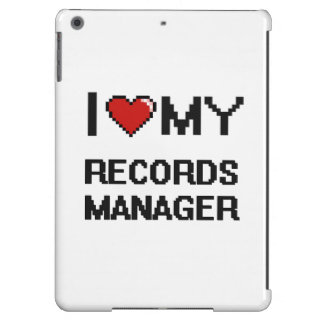 I love my Records Manager iPad Air Cover