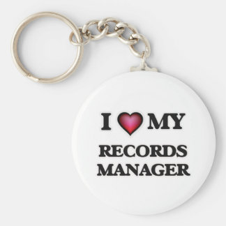 I love my Records Manager Keychain