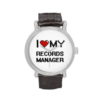 I love my Records Manager Watches