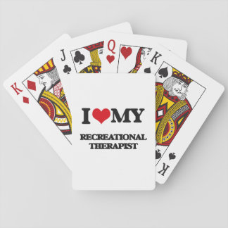 I love my Recreational Therapist Poker Cards