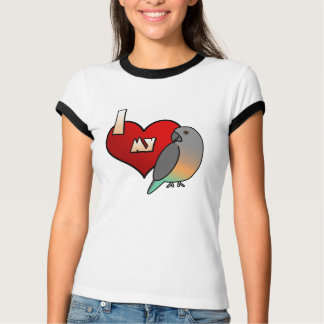 I Love my Red Bellied Parrot T-Shirt