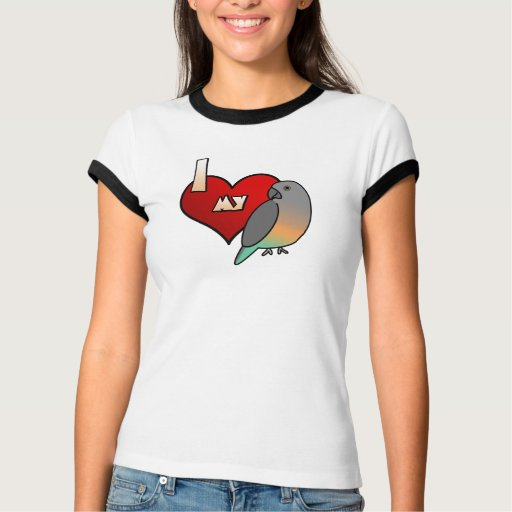 I Love my Red Bellied Parrot TeeShirt T Shirts